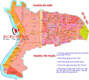 Bản đồ quy hoạch phường Phú Mỹ