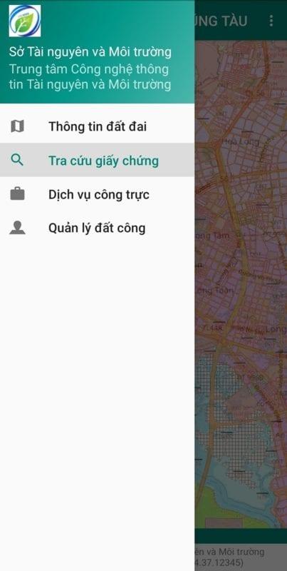 Tra cứu giấy chứng nhận trên ứng dụng kiểm tra quy hoạch đất đai Thị xã Phú Mỹ