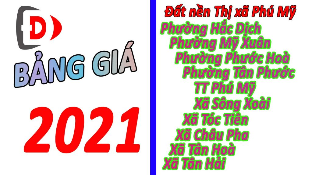 Giá đất Phú Mỹ 2021