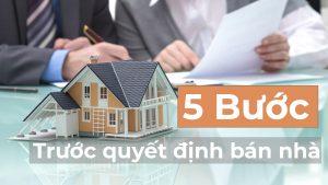 5 công việc cần phải chuẩn bị trước khi bán một ngôi nhà